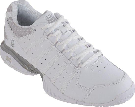 K-Swiss Receiver III - Tennisschoenen - Maat 39 - Dames - Wit/Grijs