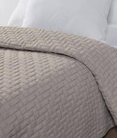 Cevilit City Collection Bern Zand Sprei - 270x260 Cm - Beige