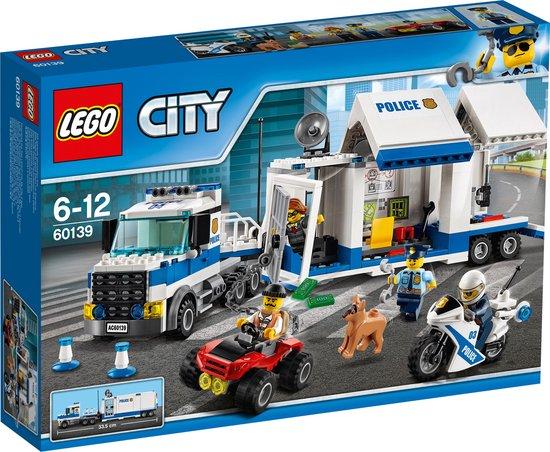 Afbeelding van LEGO City Politie Mobiele Commandocentrale - 60139