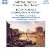 Mendelssohn/Tchaik.:Symph. 4/6