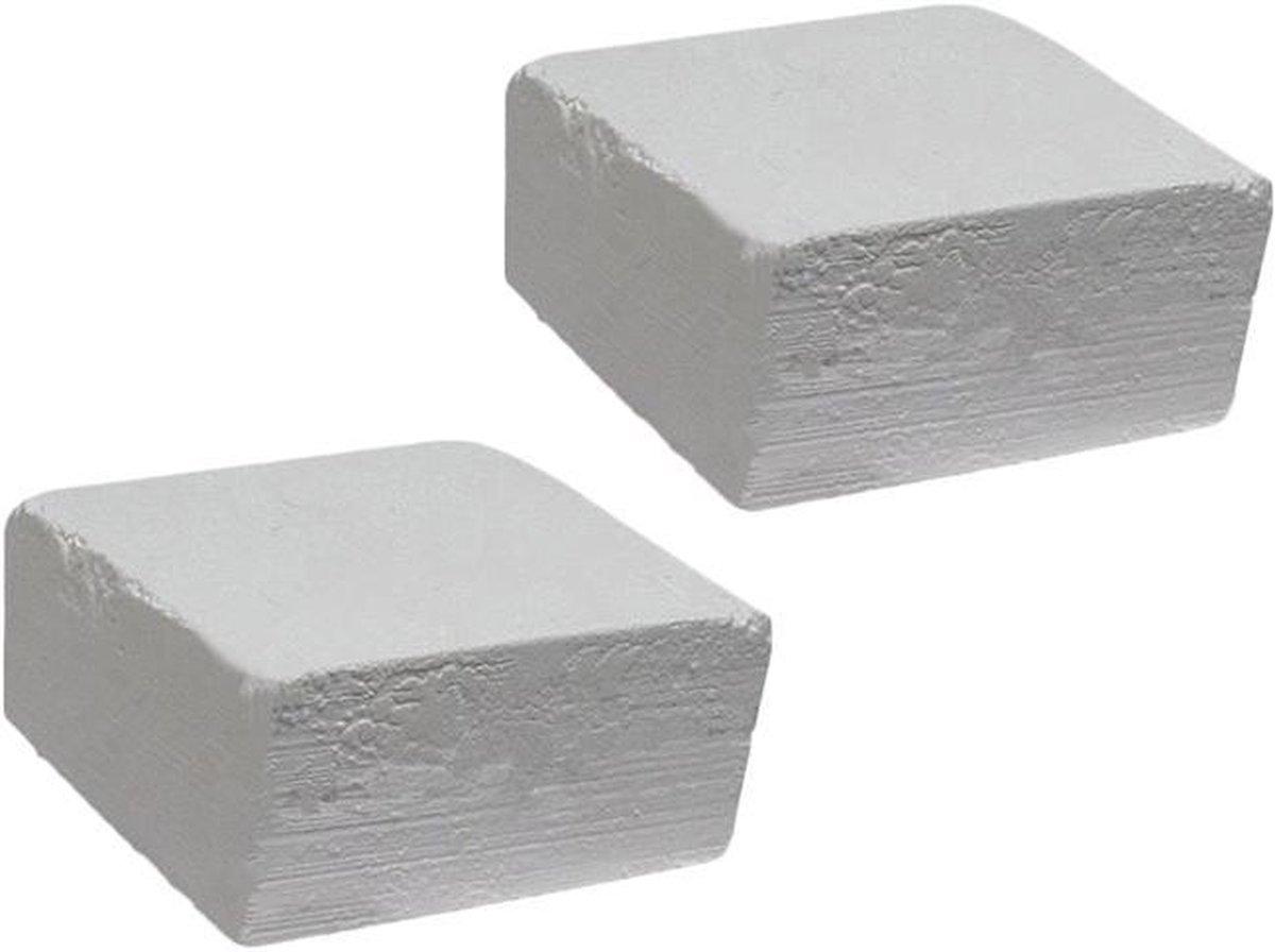 DW4Trading  Magnesium carbonaat blokken voor turnen set van 2 stuks