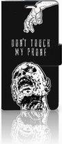 Telefoonhoesje LG Magna | G4C Book Case Hoesje Zombie