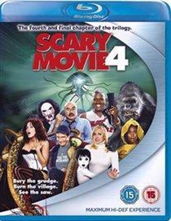 Cover van de film 'Scary Movie'