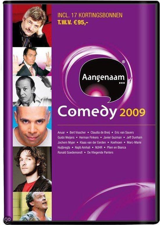 Cover van de film 'Aangenaam... Comedy 2009'