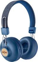 House of Marley Positive Vibration 2 Bluetooth koptelefoon - blauw
