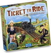 Ticket to Ride Nederland - Uitbreiding - Bordspel