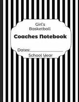 Girls Basketball Coaches Notebook Dates