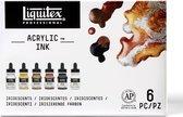 Liquitex Metallic Ink Iridescent Ink set