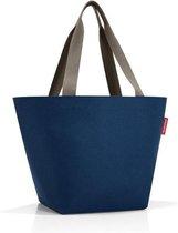 Reisenthel Shopper M Handtas - Shopper - Maat M - Polyester - 15L - Dark Blue Donkerblauw