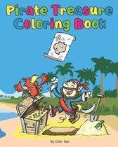 Pirate Treasure Coloring Book