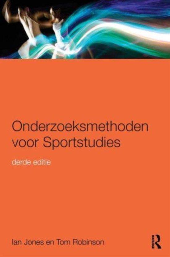 Onderzoeksmethoden voor sportstudies - Ian Jones |