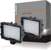 CamLink CL-LED48 48W Oranje, Wit LED-lamp