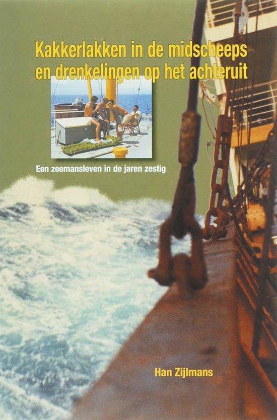 Cover van het boek 'Kakkerlakken in de midscheeps en drenkelingen op het achteruit'