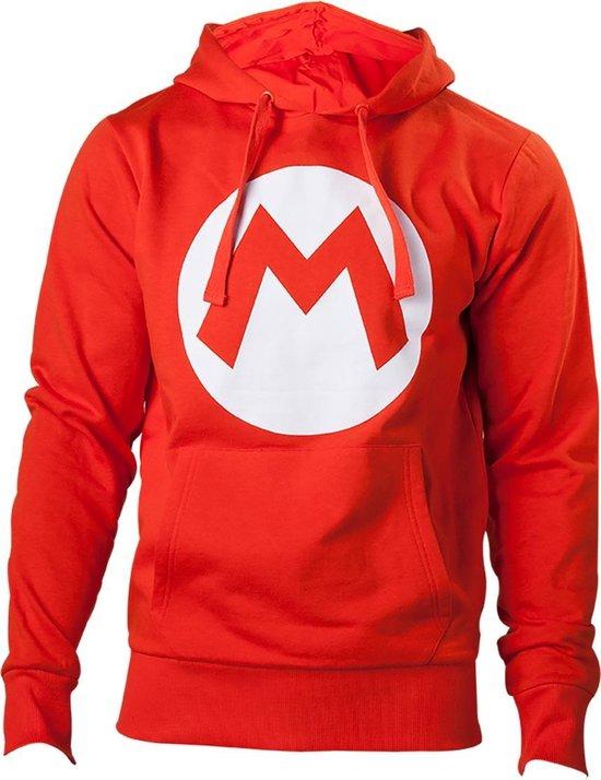 NINTENDO - Sweatshirt Red Mario Logo (XL)