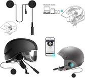 Automatisch Antwoord | Waterdicht | Handsfree Sprekende Motorfiets Bluetooth Helm Headset