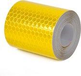 Reflecterende Tape / Stickers AA Commerce - Reflectietape / Reflectie Plakband 300x5 CM -  Geel