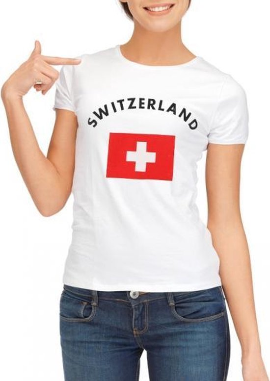 Geel Brazilie shirt dames S