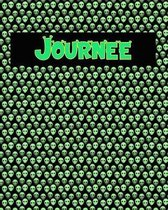 120 Page Handwriting Practice Book with Green Alien Cover Journee