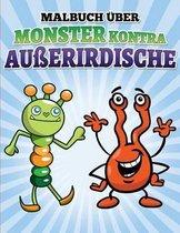 Malbuch ber Monster Kontra Au erirdische