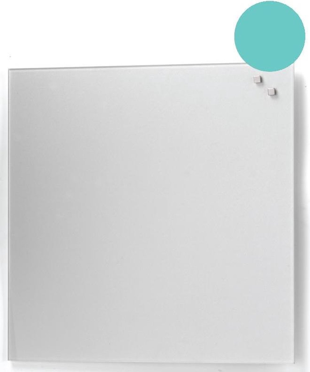 NAGA Glassboard 45x45cm Turquoise