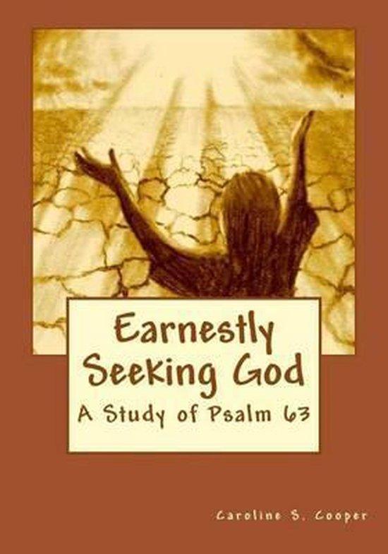 Boek cover Earnestly Seeking God van Caroline S Cooper (Paperback)