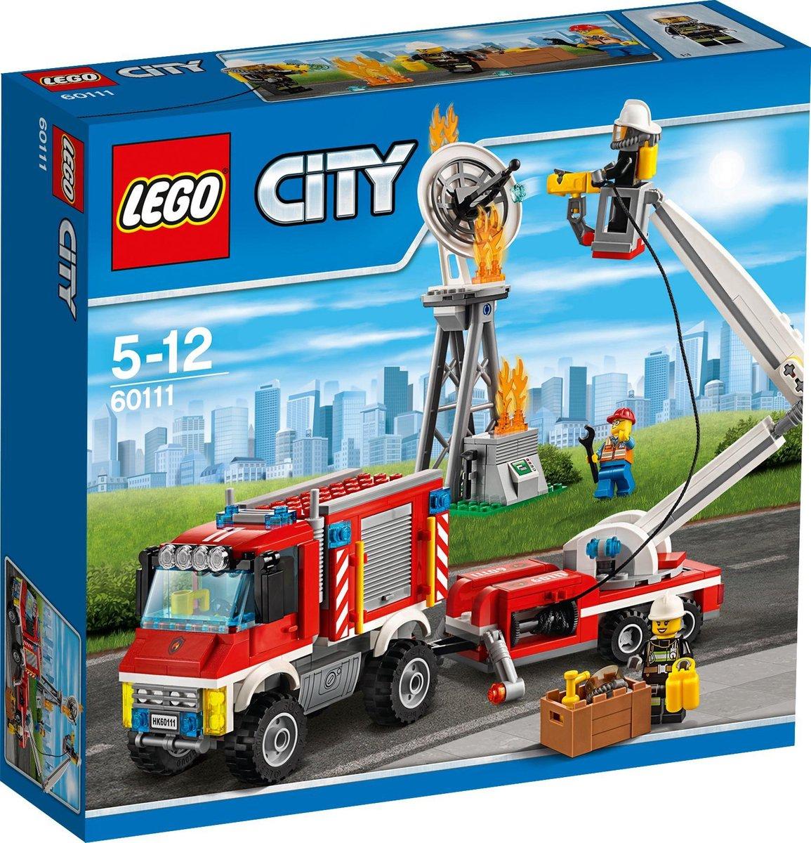 Lego 60111 City Brandweerhulp