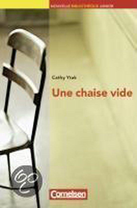 Boek cover Une chaise vide van Cathy Ytak (Paperback)