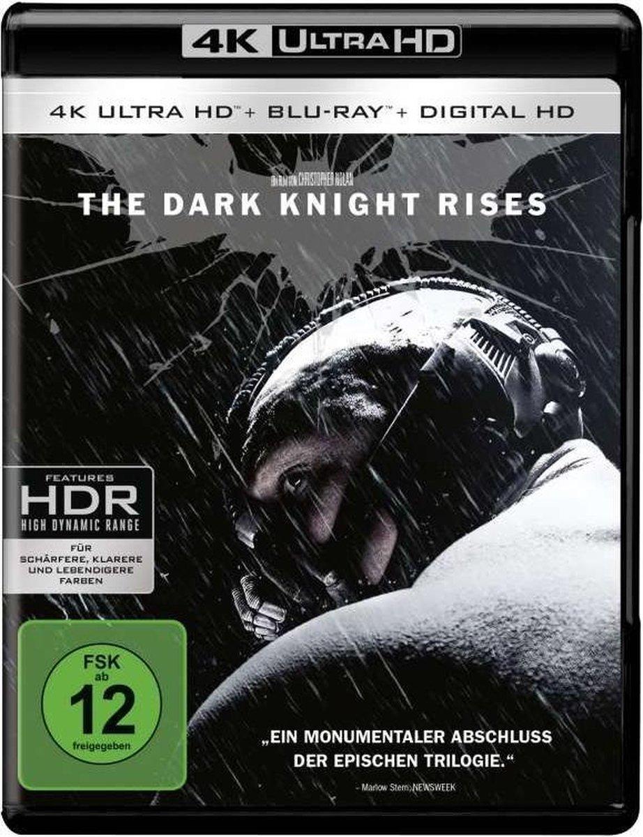 The Dark Knight Rises (4K Ultra HD Blu-ray & Blu-ray) (Import)-
