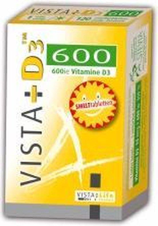 Vista Vitamine D3 600