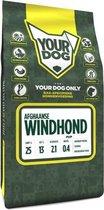 Yourdog afghaanse windhond hondenvoer pup 3 kg