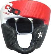 Hoofdbeschermer (head guard) Starpro G30 | zwart-wit-rood XS