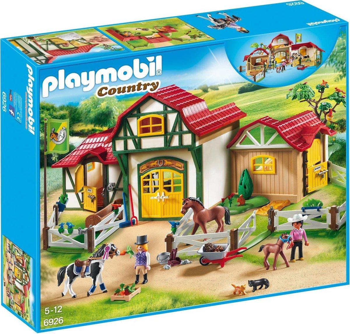 PLAYMOBIL Country Paardrijclub - 6926