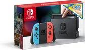 Afbeelding van Nintendo Switch Console met 35 eShop tegoed voucher - 32GB - Rood/Blauw