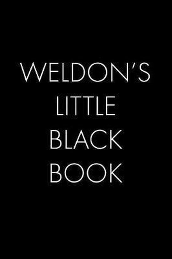 Weldon's Little Black Book