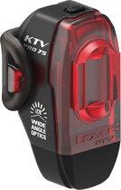 Lezyne KTV Pro Drive Rear Fiets Achterlicht - 75 Lumen - Zwart