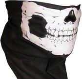 Skull Mask - doodshoofd schedel masker col en sjaal van Fitgear Outdoor