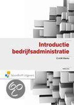 Boek cover Introductie Bedrijfsadministratie van C.A.M. Klerks-Van de Nouland