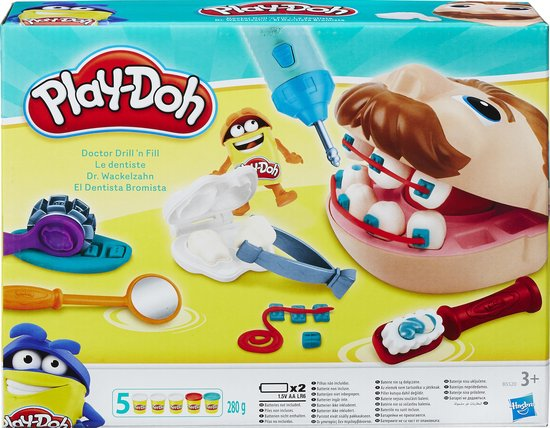 Play-Doh Bij de Tandarts - Klei Speelset