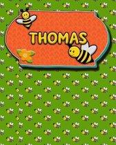 Handwriting Practice 120 Page Honey Bee Book Thomas