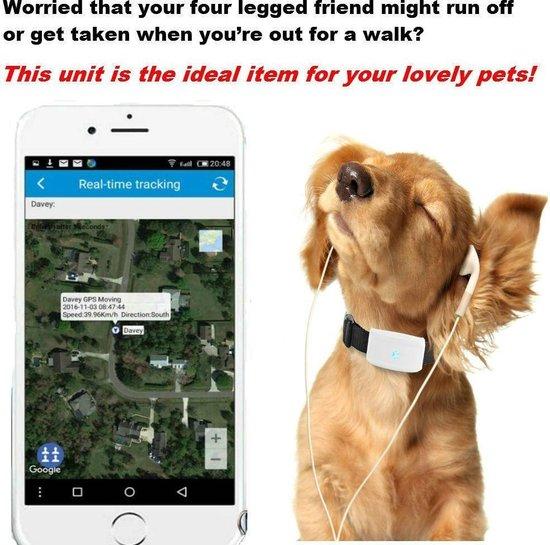 Huisdieren GPS-tracker   Anti Lost For Dogs Katten   Met kraag   Outdoor Navigation Locator Gratis APP