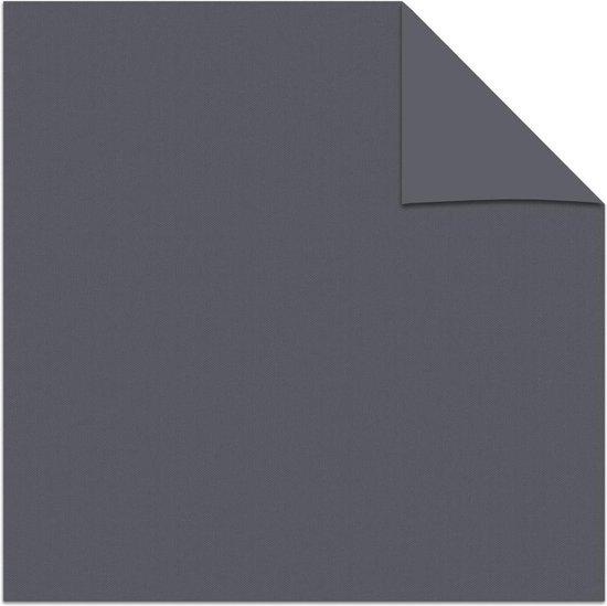 Decosol rolgordijn mini verduisterend - 52x250 cm - antraciet