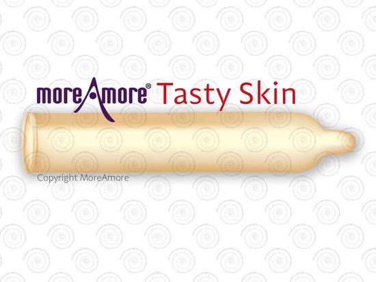 MoreAmore Tasty Skin 12 condooms - More Taste