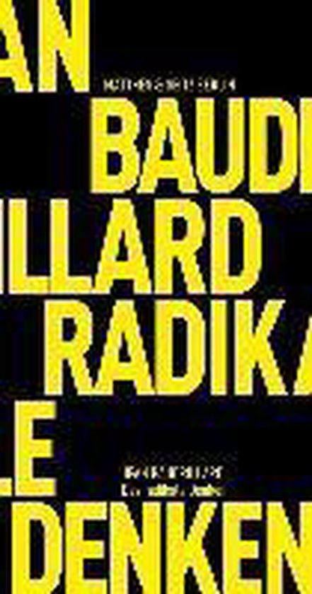 Das radikale Denken