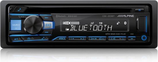 Alpine CDE-203BT Autoradio CD/ USB Bleutooth -1din