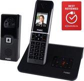 Fysic FX-6107 Telefoon & handige deur intercom met camera - Veiligheid en vertrouwen  - Zwart