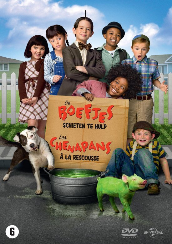 Cover van de film 'Little Rascals Save The Day'
