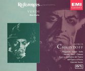Verdi: Don Carlo / Santini, Stella, Gobbi, Christoff et al