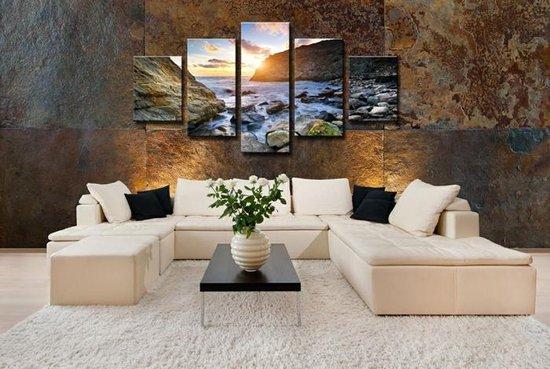 Bol Com Canvas Schilderijen Wanddecoratie Woonkamer Slaapkamer Schilderij Strand 160 X