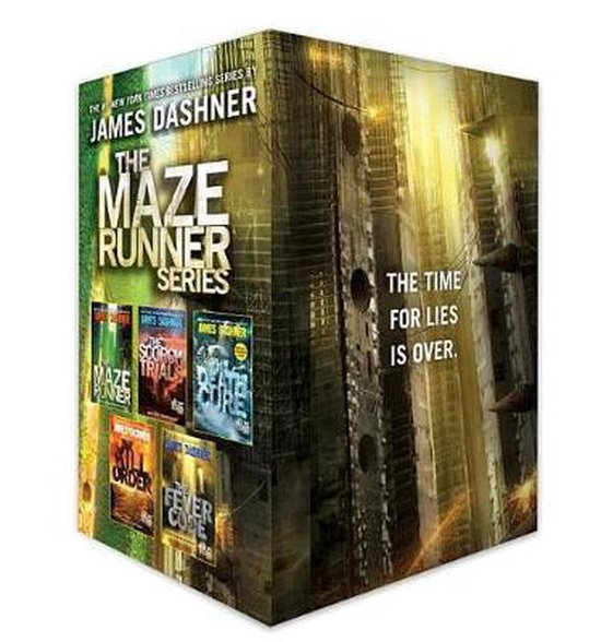 Boek cover The Maze Runner Series Complete Collection Boxed Set (5-Book) van James Dashner (Onbekend)