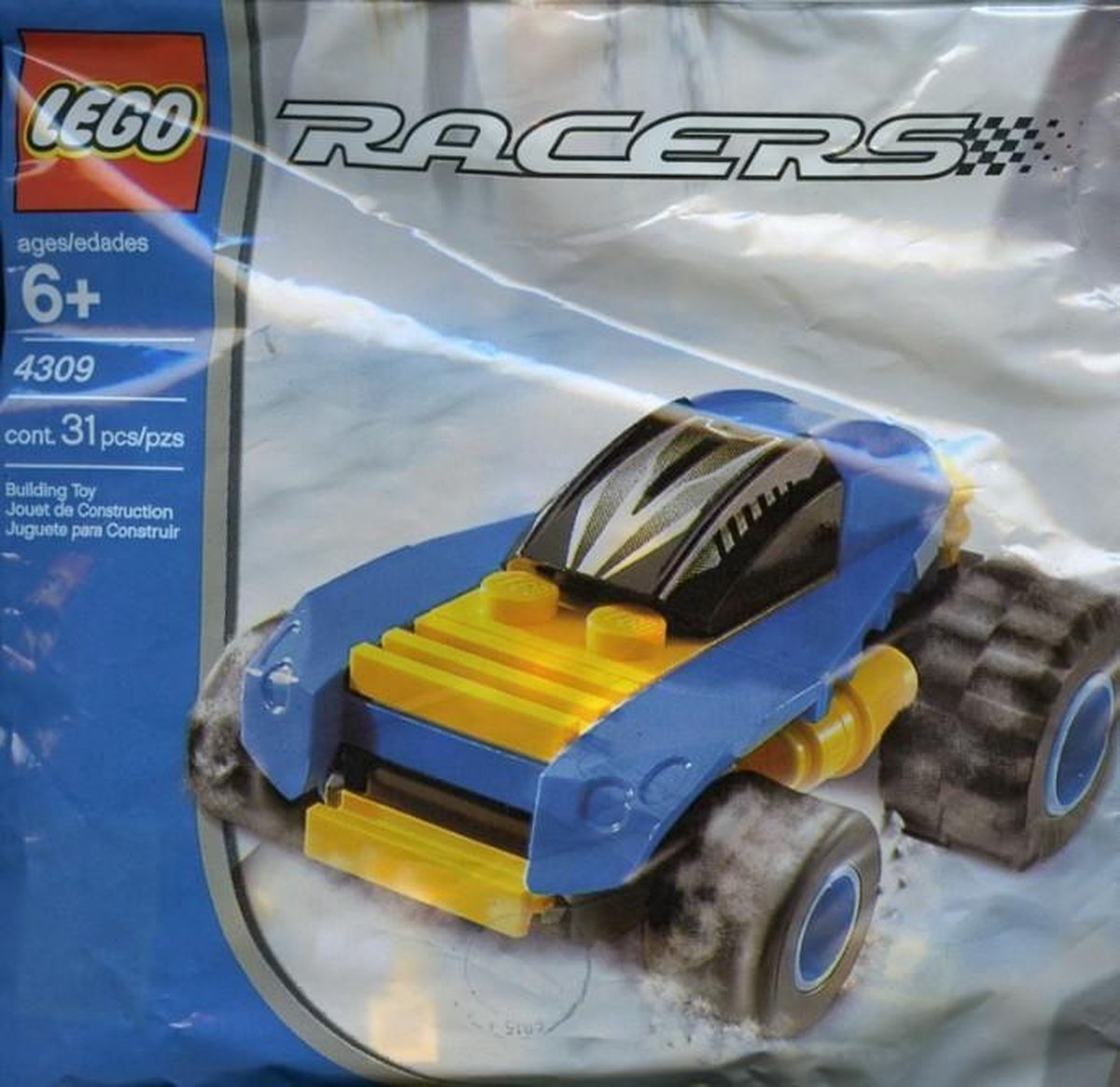 LEGO Racers Blue Racer 4309 (Polybag)